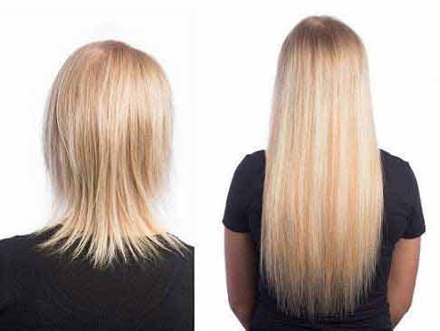 اکستنشن مو و اصول ساده نگهداری آن