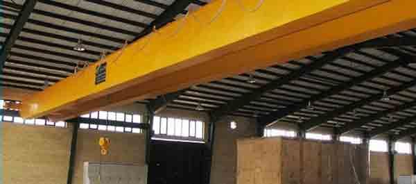 گروه ساخت و نصب جرثقیل سقفی پولادین سازه نوین