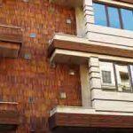 طراحی و اجرای نماهای چوبی ترمووود گروه معماری راستا