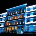 نورپردازی نما و فروش محصولات روشنایی و نورپردازی شرکت تیسان